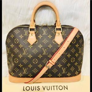 Authentic Louis Vuitton Alma #4.6ahj